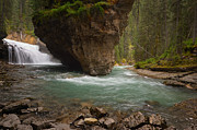 Lake Louise Photos - Johnston Canyons by Bernard Chen