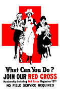 Red Cross Posters - Join Our Red Cross Poster by War Is Hell Store