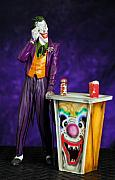 Model Mixed Media Originals - Joker by Craig Incardone