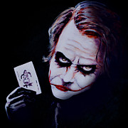 Joker Painting Originals - Joker by J P  McLaughlin