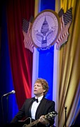 Obama Administration Prints - Jon Bon Jovi Performs Print by Everett
