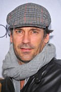 Tonight Framed Prints - Jon Hamm At Arrivals For Project A.l.s Framed Print by Everett