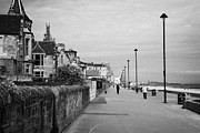 Seafront Posters - Joppa Seafront And Promenade Edinburgh Musselburgh Poster by Joe Fox