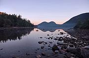 Jordan Photos - Jordan Pond Reflections - Acadia by Stephen  Vecchiotti