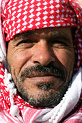 Jordan Photo Originals - Jordanian Man by Munir Alawi
