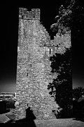 Jordans Posters - Jordans Castle Tower House Ardglass County Down Northern Ireland Poster by Joe Fox