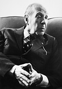 Luis Photos - Jorge Luis Borges (1899-1986) by Granger