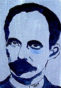 Maria Soto Robbins Art - Jose Marti sketch by Maria Soto Robbins