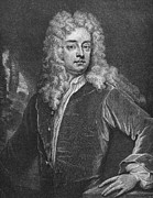 Godfrey Framed Prints - Joseph Addison (1672-1719) Framed Print by Granger