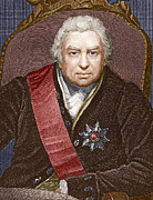 British Portraits Prints - Joseph Banks, British Naturalist Print by Sheila Terry
