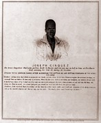 Anti-slavery Posters - Joseph Cinquez, Lead Fifty-four African Poster by Everett