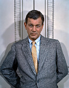 1950s Fashion Photo Metal Prints - Joseph Cotten, 1950s Metal Print by Everett