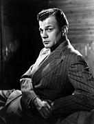Pinstripe Suit Prints - Joseph Cotten, Mgm, 1944 Print by Everett