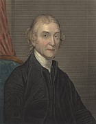 British Portraits Framed Prints - Joseph Priestley 1733-1804, Discovered Framed Print by Everett
