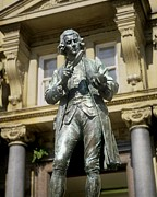 Pioneer Square Art - Joseph Priestley, British Chemist by Martin Bond