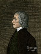 Respiration Framed Prints - Joseph Priestley, English Chemist Framed Print by Science Source