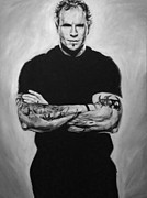 Baseball Art Drawings Originals - Josh Hamilton by Steve Hunter