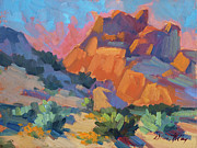 National Park Paintings - Joshua Afternoon by Diane McClary