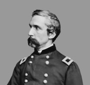Maine Metal Prints - Joshua Lawrence Chamberlain Metal Print by War Is Hell Store