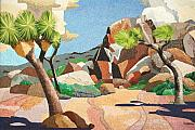 Pointillism Originals - Joshua Tree by Barry Kadische