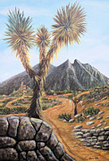 Cerro Paintings - Joshua Tree by Sonia Flores Ruiz