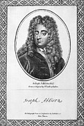 Kneller Framed Prints - Jospeh Addison (1672-1719) Framed Print by Granger