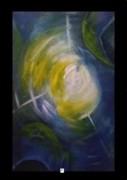 Change Systems Paintings - Journey 9 by Carol Rashawnna Williams