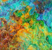 Textured Painting Originals - Journey Through Autism by Wendy Middlemass