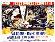 1959 Movies Framed Prints - Journey To The Center Of The Earth Framed Print by Everett