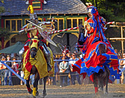 Knights Photos - Joust 03 by Jeff Stallard