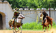 Joust Posters - Joust Poster by Elizabeth Hart