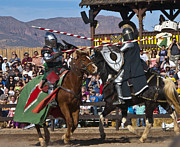 Round Table Prints - Joust to the end... Print by Jon Berghoff