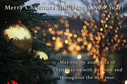 Holiday Greetings Posters - Joy and Peace of Christmas Poster by Nishanth Gopinathan