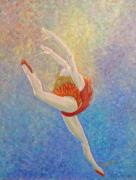 Ballet Dancer Posters - Joy Poster by Donna Blackhall