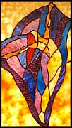 Dancer Glass Art - Joy by Howard Mendelson