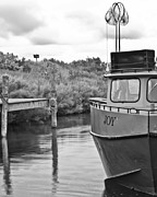 Trawler Photo Metal Prints - Joy in Leland Michigan Metal Print by Twenty Two North Photography