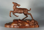 Western Sculptures - Joy of Spring by Dawn Senior-Trask