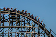 Roller Coaster Photo Framed Prints - Joy Ride Framed Print by James Bull