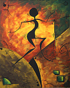 Silhouette Painting Posters - Joyous Return by MADART Poster by Megan Duncanson