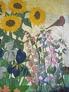 Garden Tapestries - Textiles - Joys of Nature by Denise Hoag