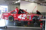 Daytona 500 Photos - Juan Pablos Number 42 by Jamie Baldwin
