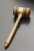 Authority Photos - Judges Gavel by Jeremy Woodhouse