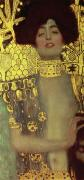 Gustav Klimt Canvas Paintings - Judith by Gustav Klimt