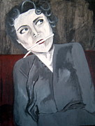 Serial Killer Painting Prints - Judy Dull - Harvey Glatman victim Print by Crystal Dearth-Lorton
