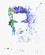 Famous Actor Prints - Judy Garland 2 Print by Irina  March