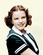 Judy Garland Framed Prints - Judy Garland, Ca. Late 1930s Framed Print by Everett
