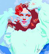 Keaton Digital Art - Judy Garland by John Keaton