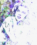 Watercolor Painting Prints - Judy Garland Print by Irina  March