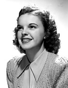 Garland Framed Prints - Judy Garland, Portrait Framed Print by Everett