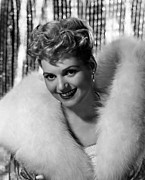 Updo Framed Prints - Judy Holliday, 1949 Framed Print by Everett